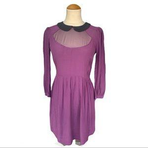 UO Cooperative Peter Pan Collar Dress